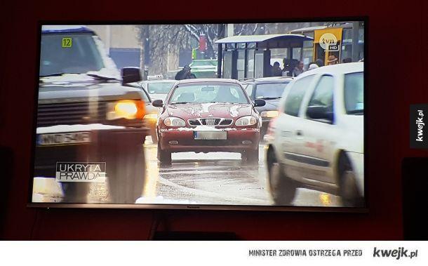 W TVN w Warszawie jeździ sie bez świateł