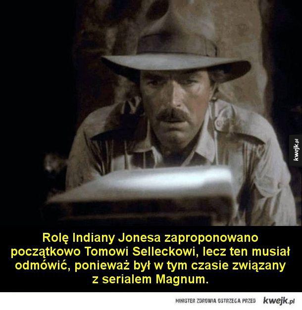 Garść ciekawostek o filmach z Indianą Jonesem