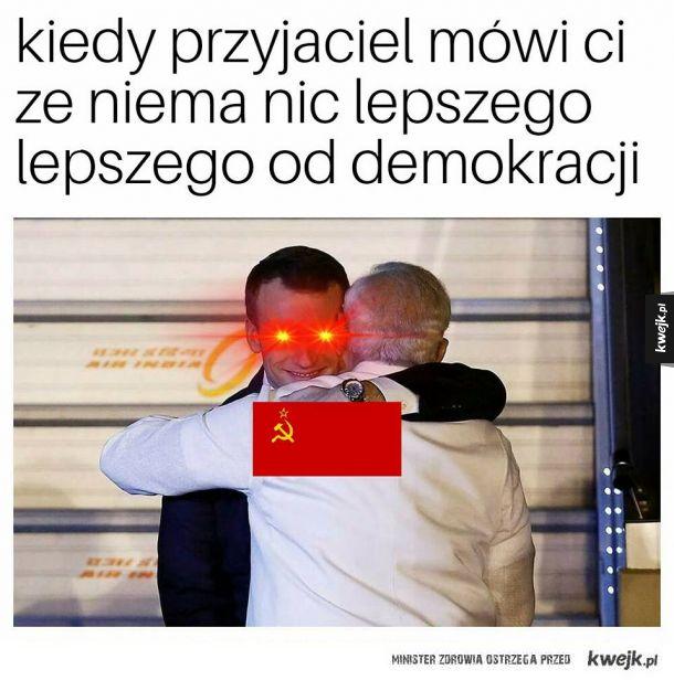 Nie ma nic lepszego od demokracji