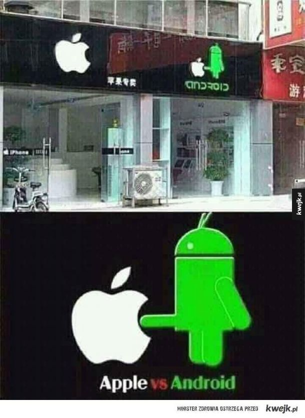 Apple kontra android