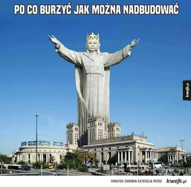 Posąg króla Polski