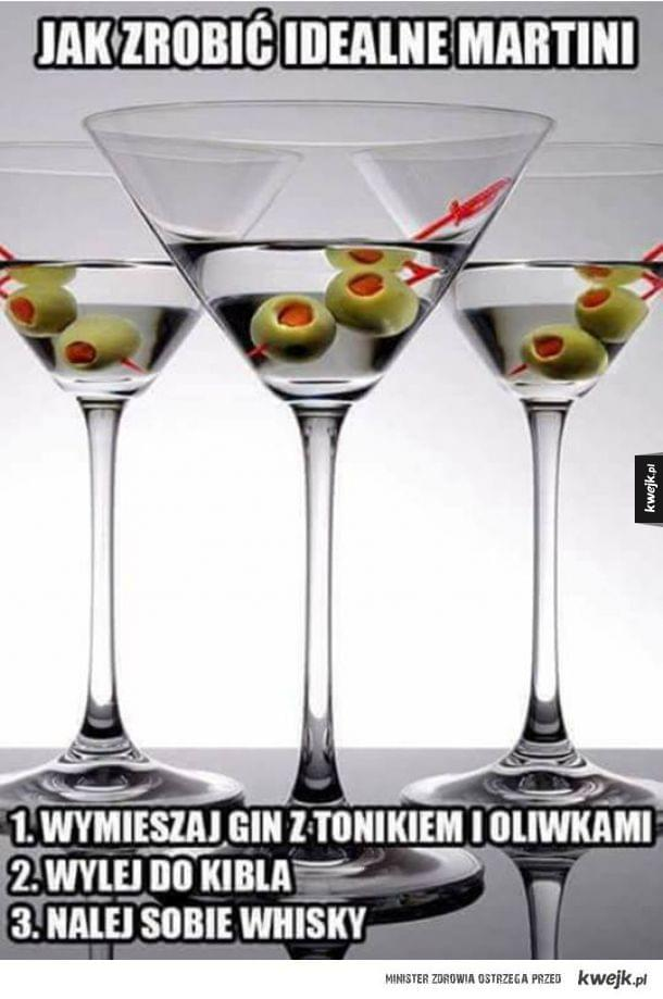 Przepis na idealne Martini