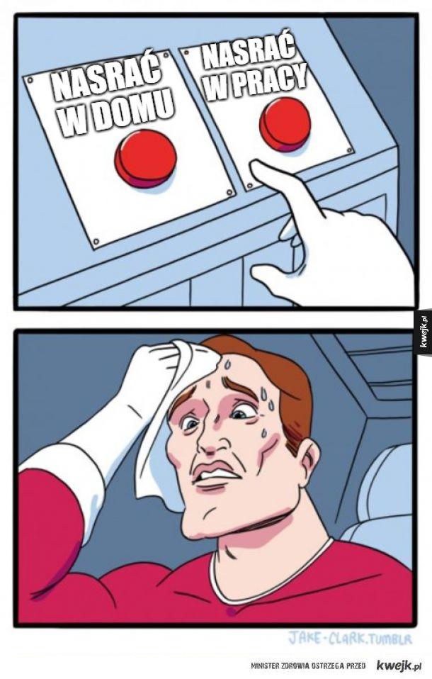 bardzo ważny wybór