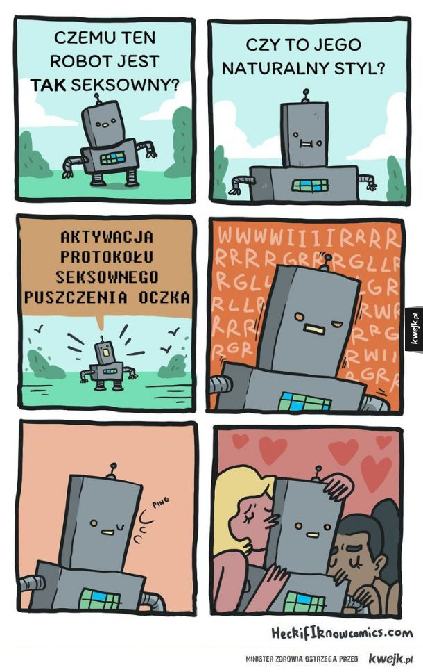Seksowny robot