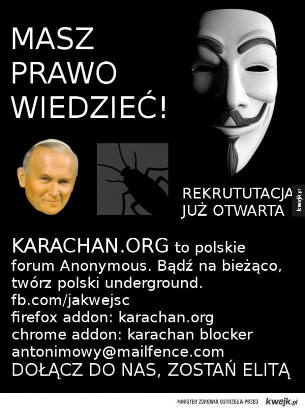 karachan.org anonymous poland rekrutacja