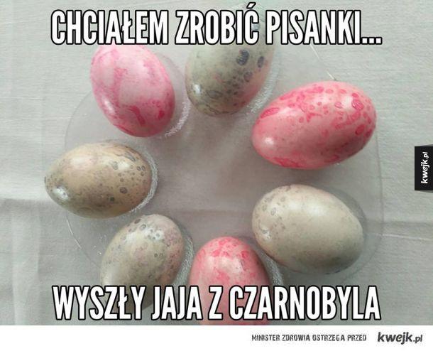 Jaja z czarnobyla