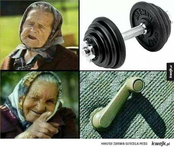 I to są ćwiczenia