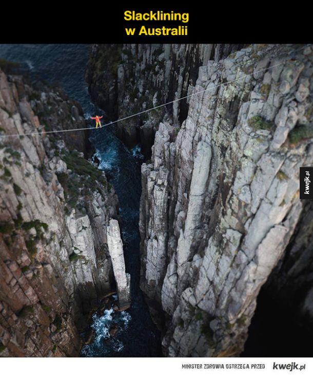 Epickie zdjęcia z dużą dawką adrenaliny