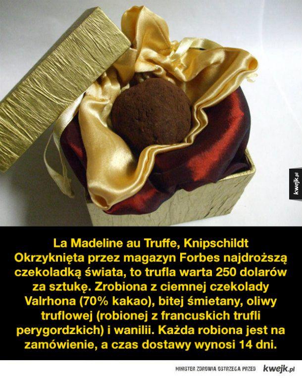 Najdroższe czekoladki na świecie