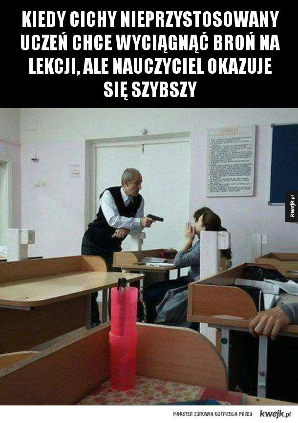 Nie na mojej lekcji, gówniarzu