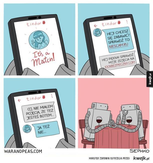 100% ludzkie śmieszki, żadne tam roboty