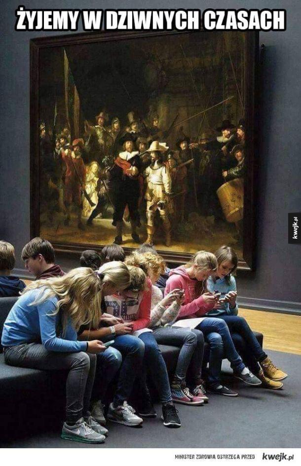 Tymczasem w muzeum