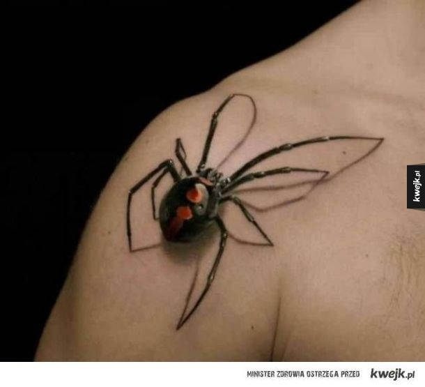 Tatuaże z efektem 3D