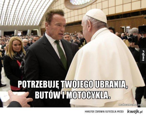Terminator vs Papież