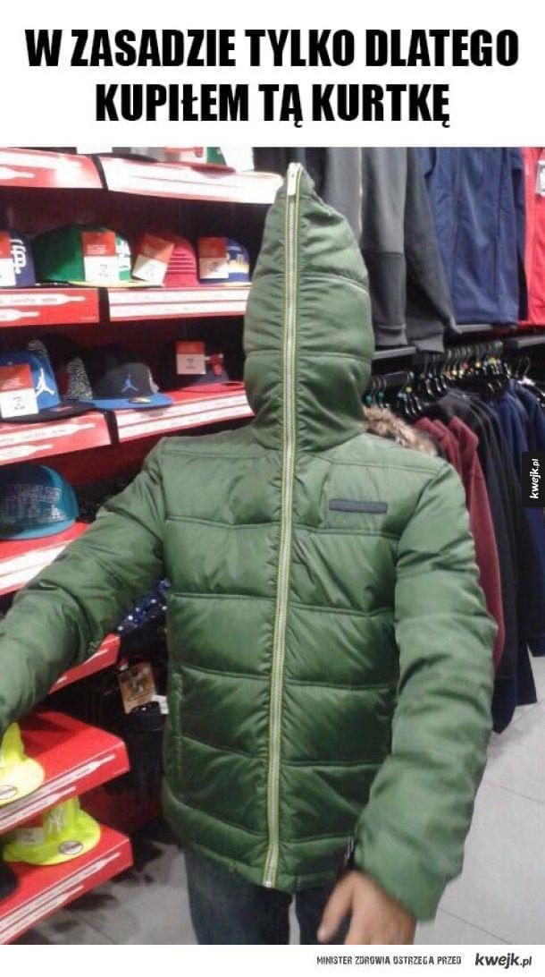 Nowa kurtka