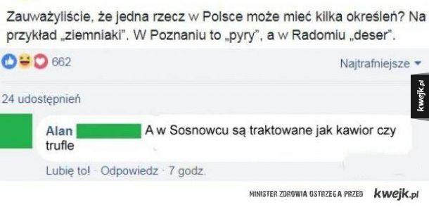 Kawior dla mieszkańców Sosnowca