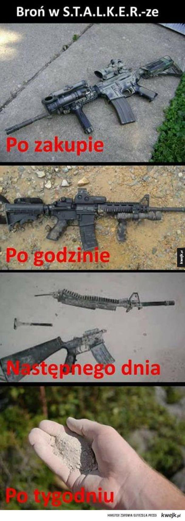 Broń w Stalkerze