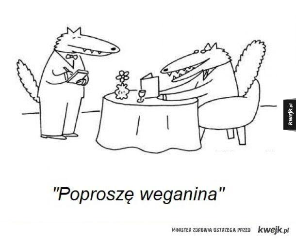 Wegańskie jedzenie