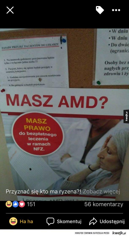 Kto ma procesor AMD?