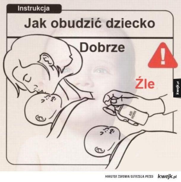 Jak budzić dziecko
