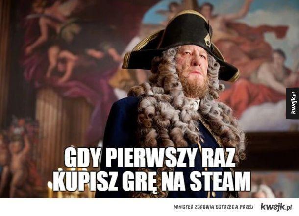 Kiedy kupisz grę na Steam