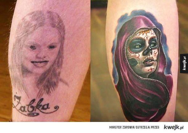 Koszmarne tatuaże po poprawkach