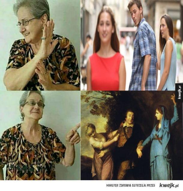 Babcia lubi sztukę