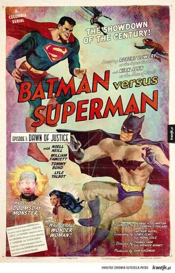 Gdyby te filmy powstały kilkadziesiąt lat temu, tak pewnie wyglądałyby ich plakaty