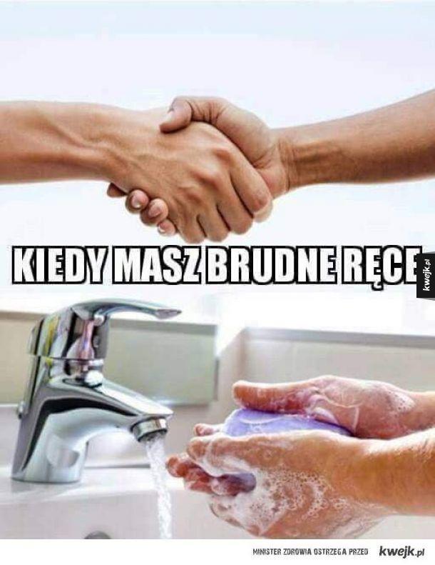 Trzeba je umyć