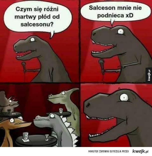 Tyranozaur i jego genialne żarty