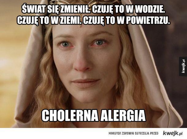 Alergiczne śmieszki