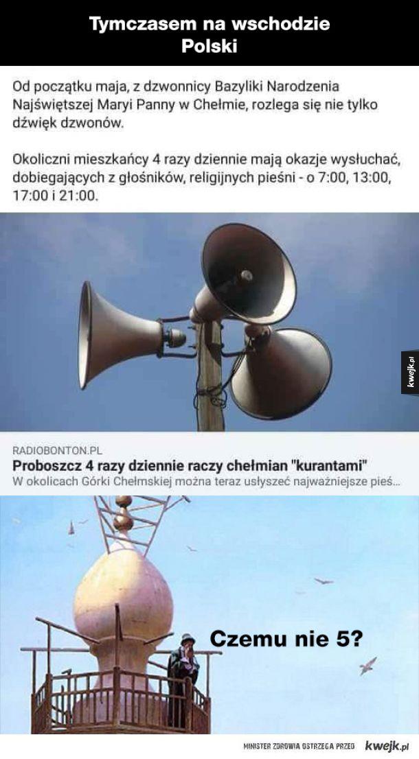 Co tam słychać w Polsce