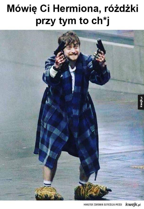 To jest broń na Voldemorta