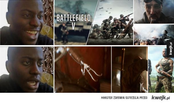 Reakcja na Battlefield V