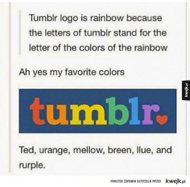 Kolorowy Tumblr