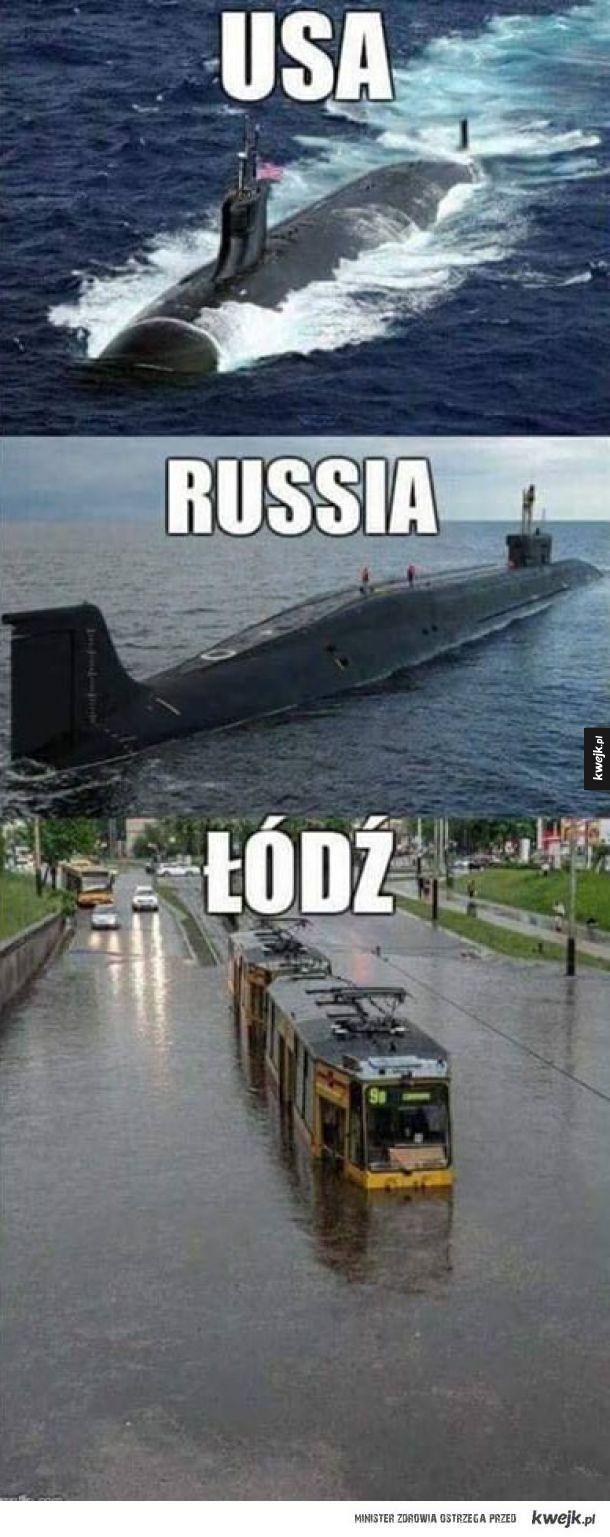 Porównanie marynarki wojennej