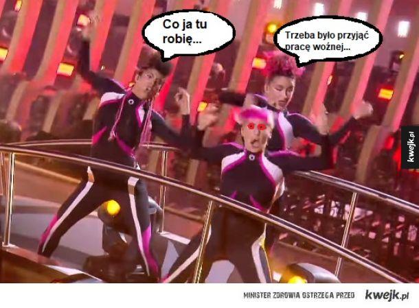 Tym czasem na Eurowizji