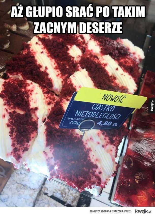 Ciasto niepodległości