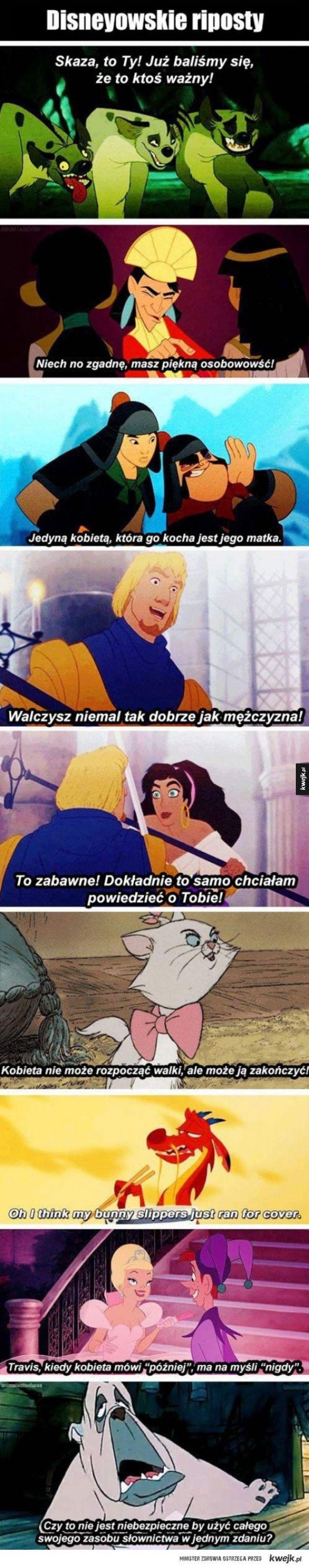 Disneyowskie riposty