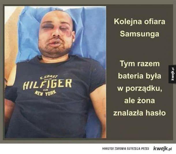 Kolejna ofiara Samsunga