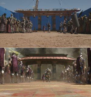 """""""Infinity War"""" przed efektami specjalnymi i po [spojlery]"""