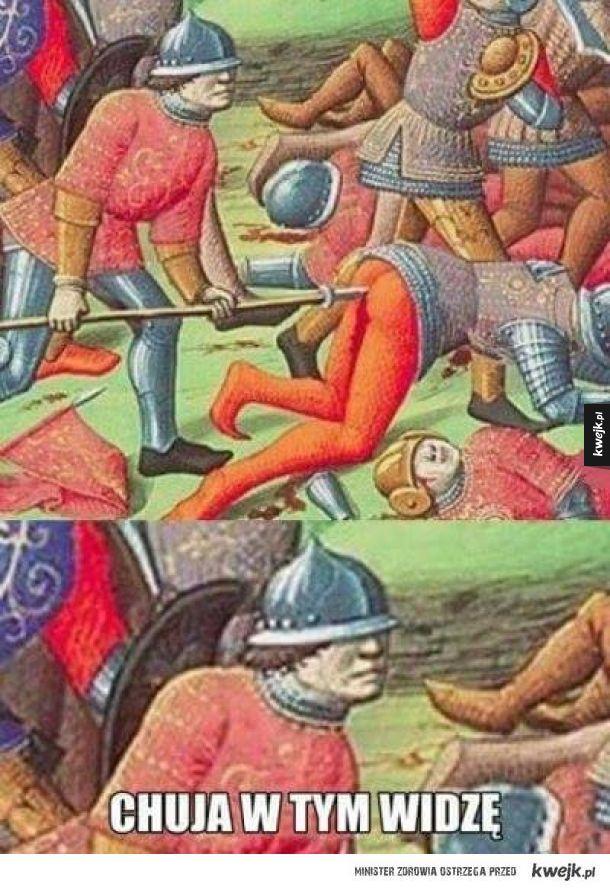 Średniowieczna bitwa