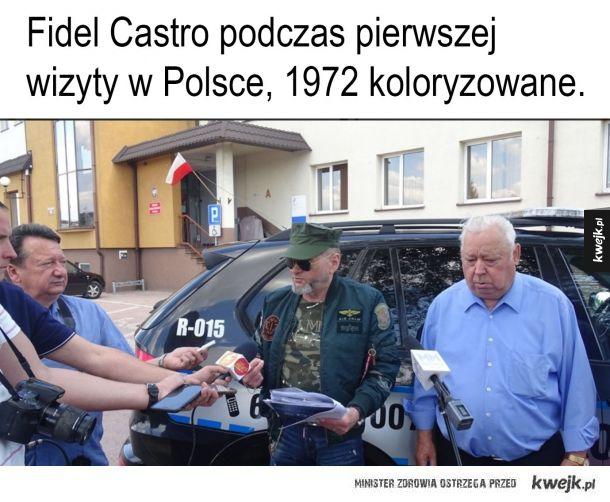 Fidel Castro w Polsce