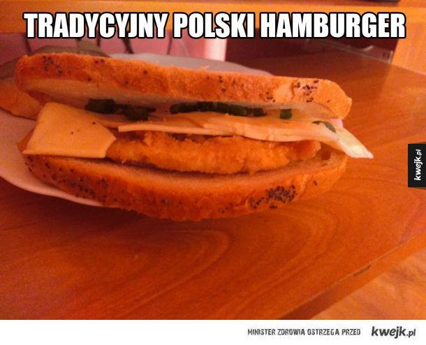 Polski hamburger