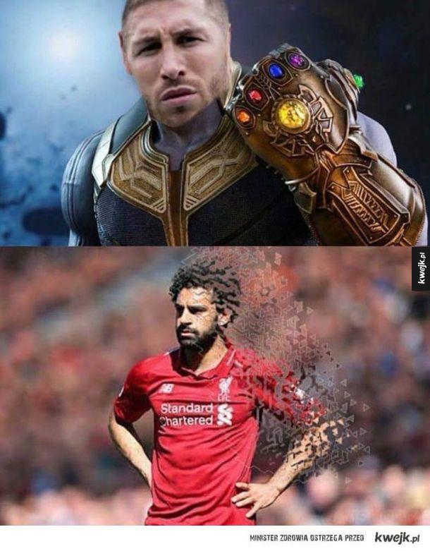 Liga Mistrzów Ramos xD
