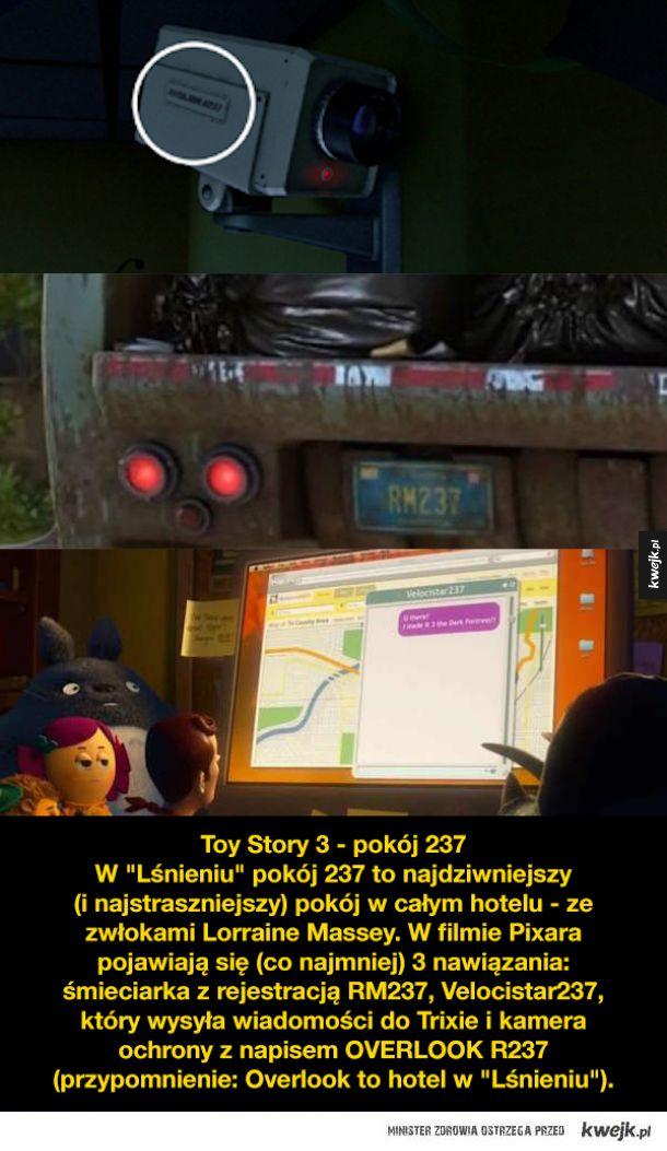 """Czy Pixar ukrywa w swoich filmach nawiązania do """"Lśnienia"""" Stanleya Kubricka?"""