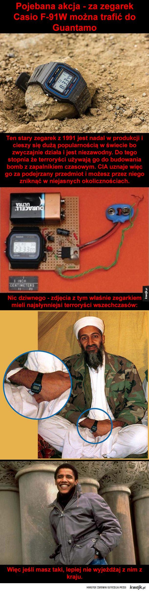 Zegarek terrorystów