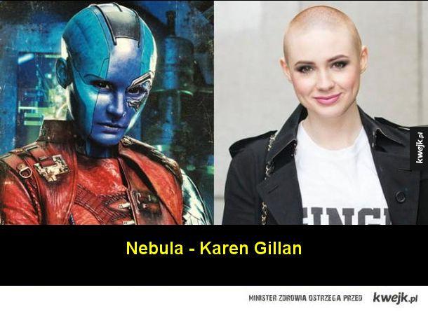 Aktorzy, którzy kryją się pod charakteryzacją w filmach Marvela