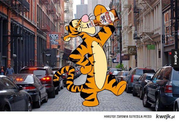 Tygrysek w dzisiejszych czasach