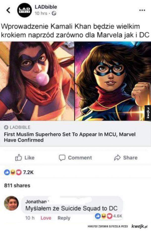 Pierwsza muzułmańska superbohaterka